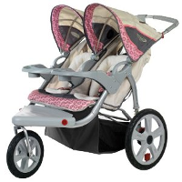 InStep Grand Safari Swivel Wheel Double Jogger 284 – InStep 11AR284