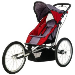 Schwinn Joyrider Single Fixed Wheel Jogger - Sport Stroller
