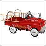 Fire Truck Pedal Car - InStep 14-PC300
