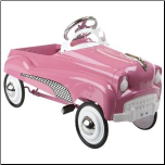 Hot Pink Pedal Car - InStep 14-PC750