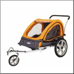 InStep Quick-N-Easy Double Bicycle Trailer - InStep 12-QE212