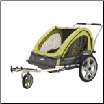 InStep Sierra Double Bicycle Trailer - InStep 12-QL234